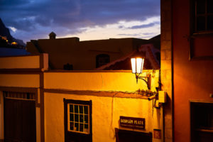 Garachico in der Nacht 1