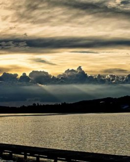 Sonnenuntergang Hopfen am See 2