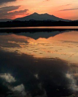 Sonnenuntergang in Hopfen am See 5