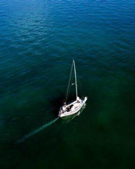 I am sailing 1