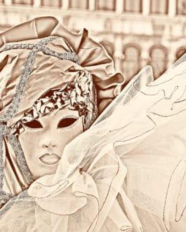 Venezianische Masken, Karneval 11