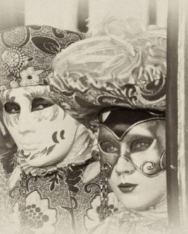 Venezianische Masken, Karneval 7