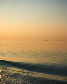 Sonnenuntergang, Lagune, Venedig 8