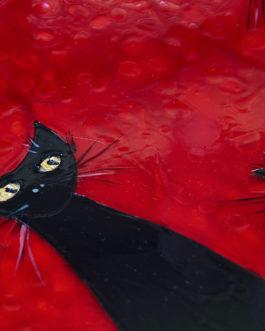 Schwarze Katzenfamilie 6 – Verkauft