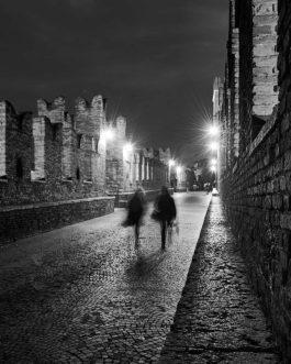 Verona bei Nacht 3, Ponte Scaligero